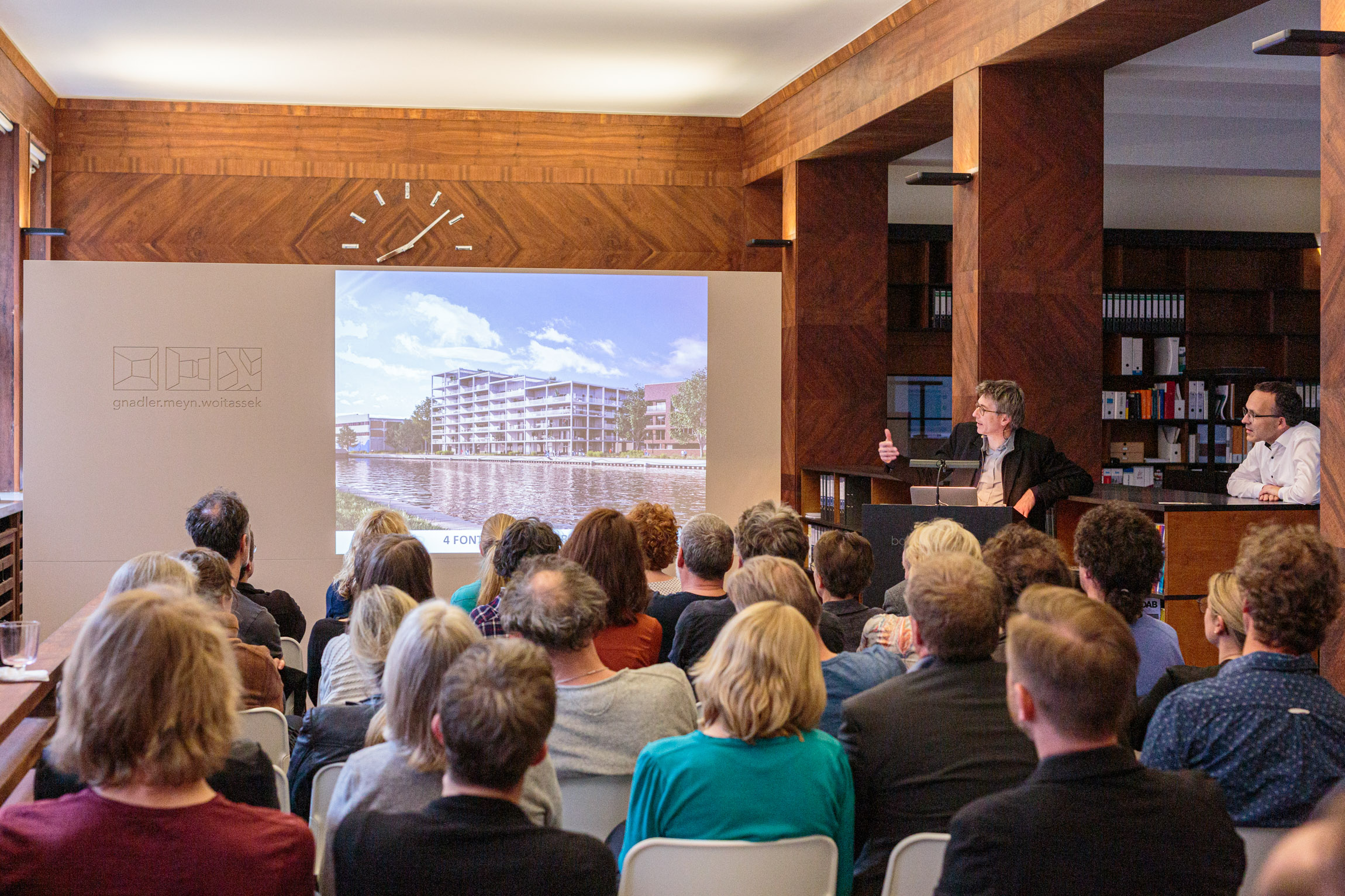 Erstes bank[d]ruecken mit dem Atelier Kempe-Thill aus Rotterdam
