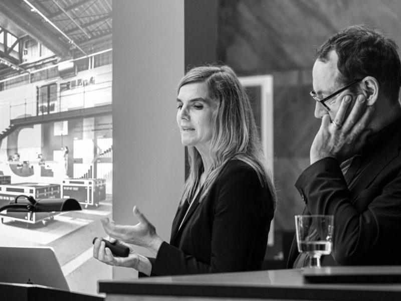 Reichel Schlaier Architekten aus Stuttgart zu Gast in der Schalterhalle