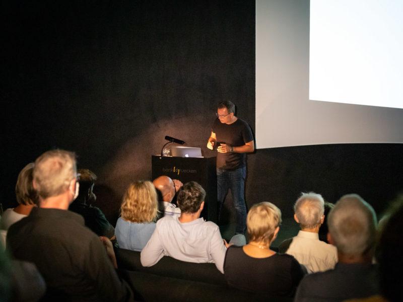 Architekt Benedikt Schulz im OZEANEUM Stralsund